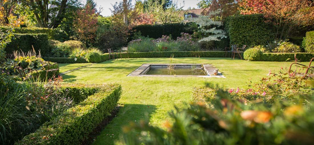 Massif agr ment du jardin for Creation jardin anglais